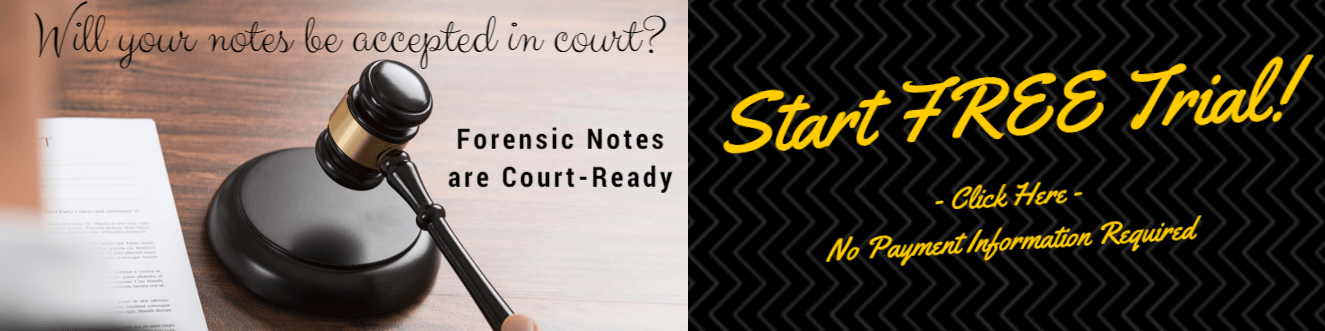 Court-Ready Notes : Forensic Notes