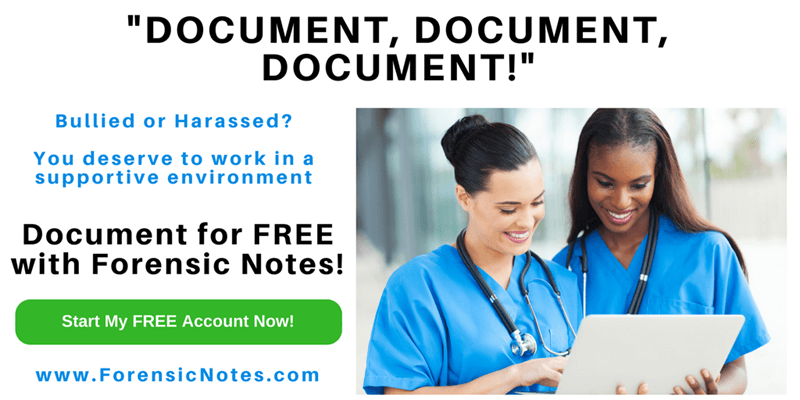 Document Workplace Bullying and Harassment with Forensic Notes Software
