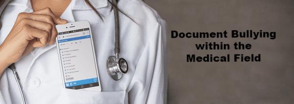 Nurse using Forensic Notes