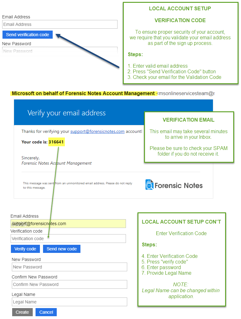 Azure B2C Local Account Signup