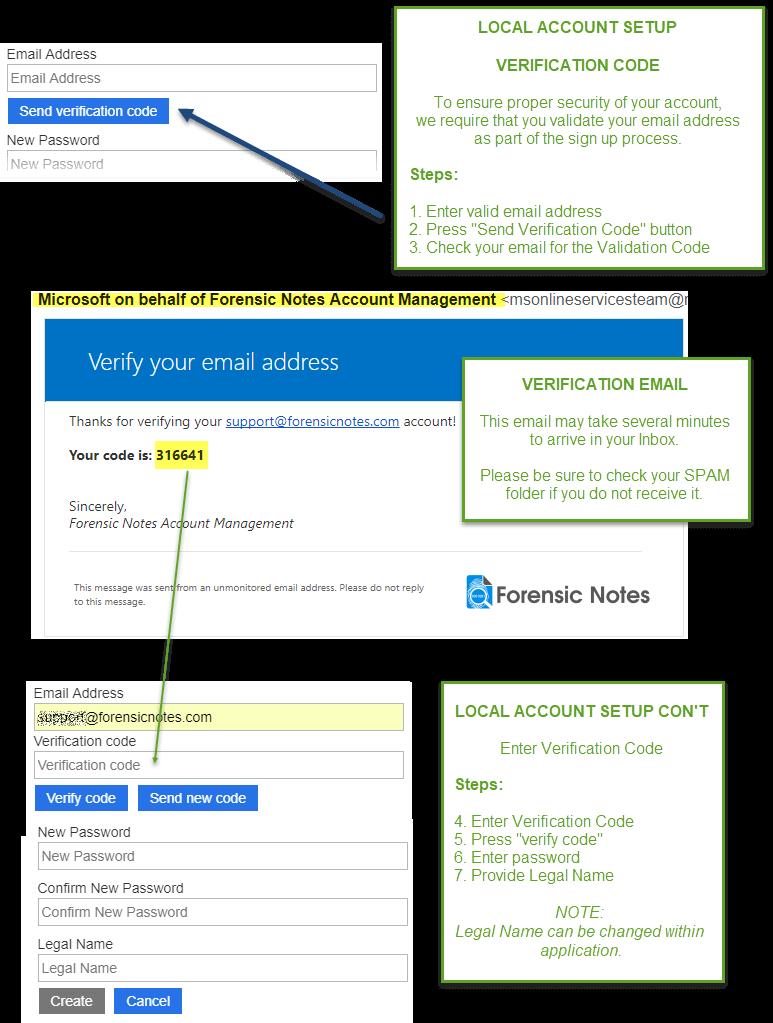 Azure B2C Local Account Signup