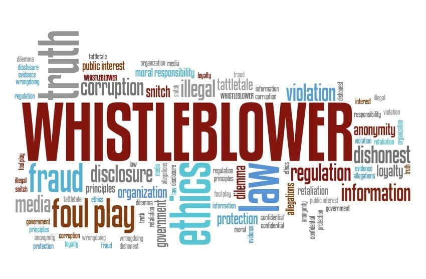 Whistleblowing - whistleblower - ethics