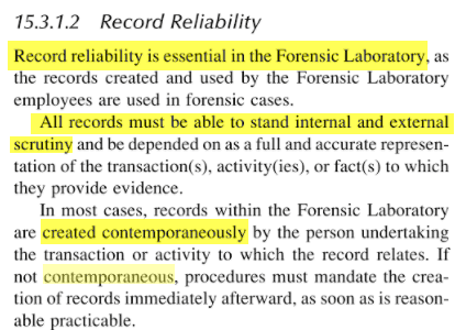 Watson and Jones - Record Reliability requires contemporaneous notes