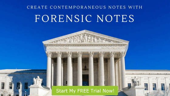 Document Digital Forensics Examinations with Forensic Notes