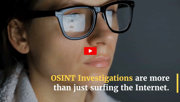 OSINT Tools Video