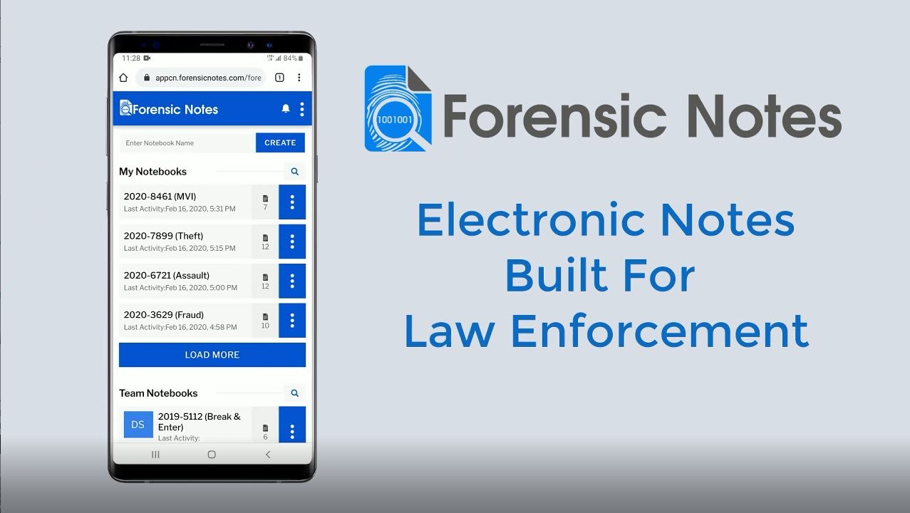 Forensic Notes Mobile
