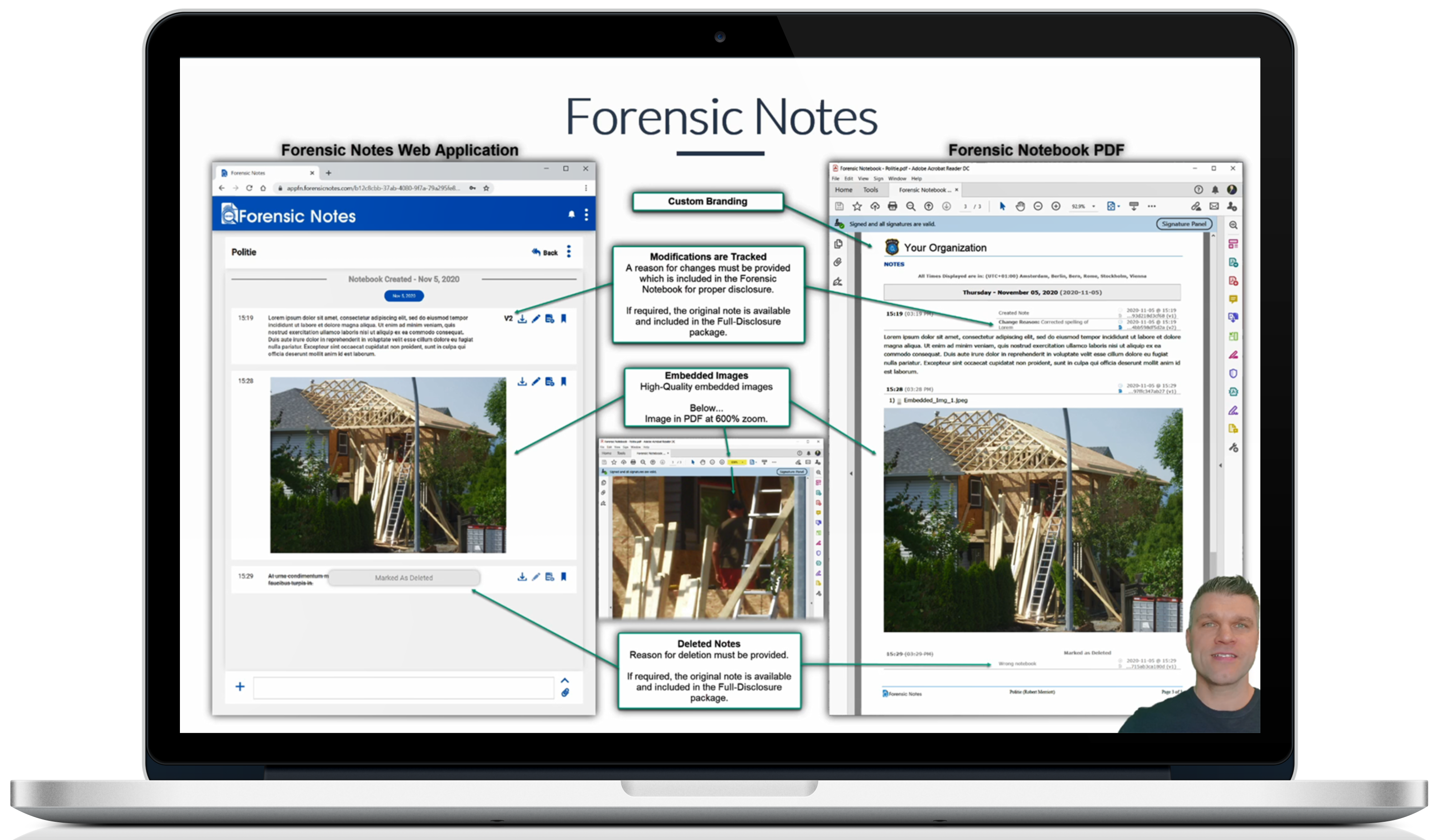 Forensic Notes Video Overview